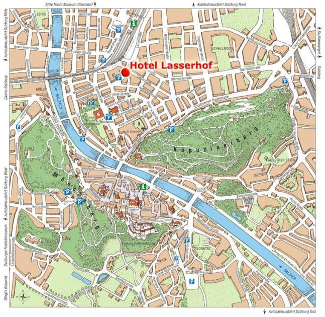 Atel Hotel Lasserhof Salzburg Salzburg Discount Hotel